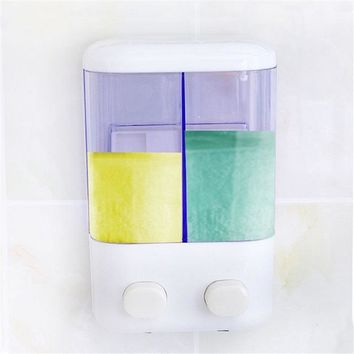 Bathroom Soap Dispenser For Domestic Use Or Hotels Hotel Wall Soap Box Shampoo Shower Gel Storage Box