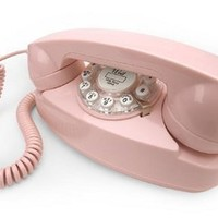 Crosley CR59-PI Princess Phone with Push Button Technology (Pink)