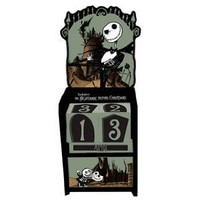 Neca Nightmare Before Christmas Wooden Jack and Kids inches  Calendar