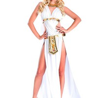 [25.19] In Stock White Egypt Queen Halloween Costume - Dressilyme.com