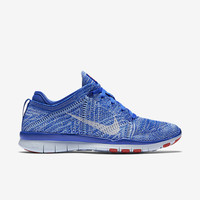 The Nike Free TR 5 Flyknit Women's Training Shoe.