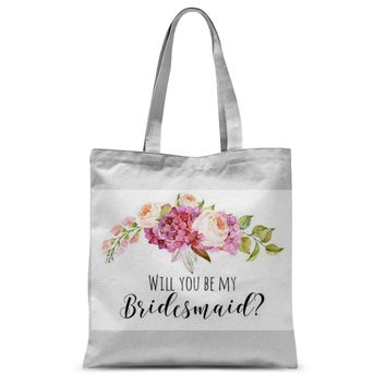 Bridesmaid Proposal Tote Bag