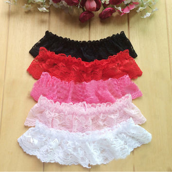 Floral Maid Lace Elastic Belt