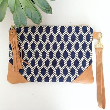 Nautical ropes Wristlet