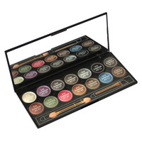 Bright Color 14 Color Eyeshadow & Eyebrow Makeup Smoky Eye Shadow