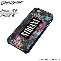 Nirvana Floral Flower Case For Iphone 5/5S Case