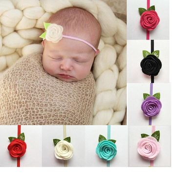 Girls' Baby Clothing Fashion Baby Girls Headband Princess Lace Flowers Diamond Pearl Headbands Elastic Hairbands Accesorios Para El Pelo Great Varieties Accessories