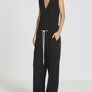 slouchy tailored jumpsuit