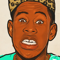 Chance The Rapper Tyler The Creator Face Poster