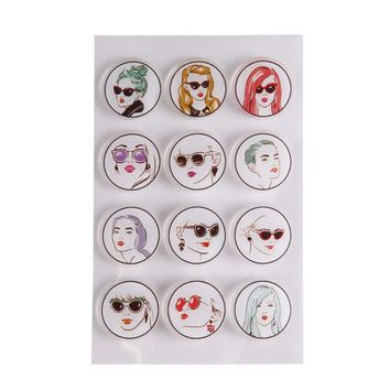 10x16CM clear stamp fire Carton Beautiful Girls for DIY Scrapbook Card embossing stencil template transparent stamp