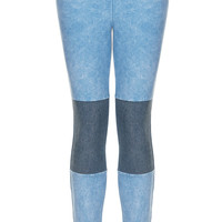 Knee Patch Denim Jeggings - New In This Week - New In - Topshop