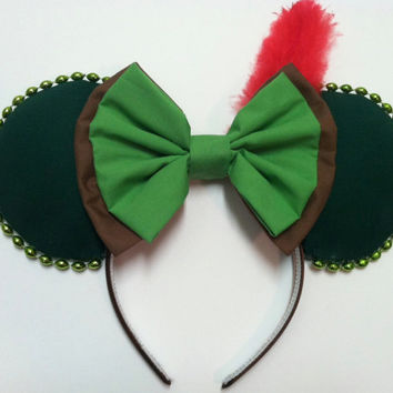 Handmade Mouse Ears - Peter Pan