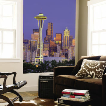 Skyline From Kerry Park, Seattle, Washington, USA Wall Mural by Jamie & Judy Wild at AllPosters.com