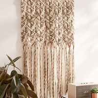 Marled Macrame Oversized Wall Hanging - Urban Outfitters