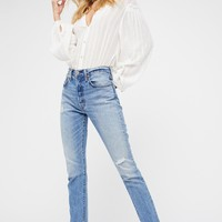 Free People 501 Skinny Jeans