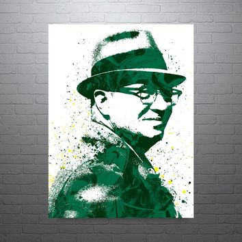Vince Lombardi Green Bay Packers Poster