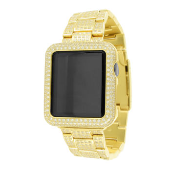 14K Yellow Gold Finish Apple Watch
