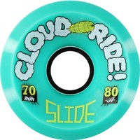 Cloud Ride Slide 70mm 80a Longboard Wheels