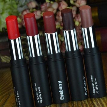 VONEUG5 brand matte lipstick health lipstick long-lasting Waterproof lip gloss red lip Cosmetics makeup purple lipstick