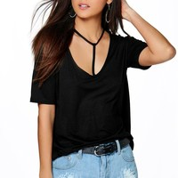 Molly Harness Strappy T-Shirt