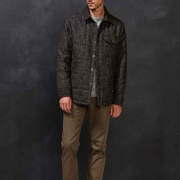 CPO Russo Brushed Tweed Quilted Jacket