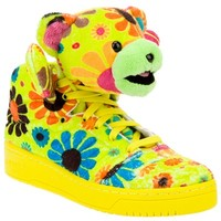 ADIDAS ORIGINALS BY JEREMY SCOTT bear trainers