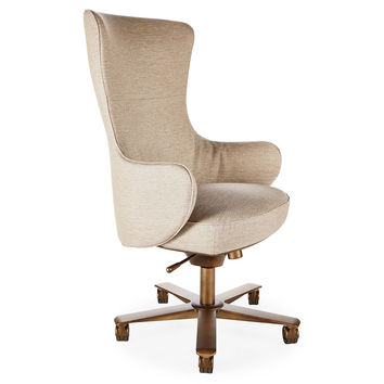 Giorgetti, Genius Desk Chair, Beige, Desk Chairs