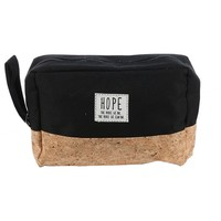 """Two Tone """" Hope"""" Message Makeup Pouch"""