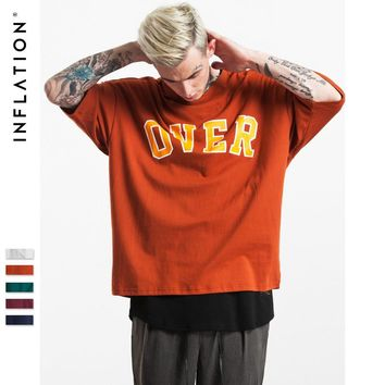 INFLATION Men Over Retro Printed Tee