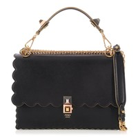Fendi Black Scalloped Kan Bag - Ann's Fabulous Finds