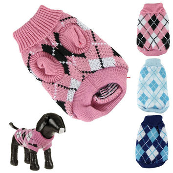 Crochet Pet Sweater for puppies/small dog