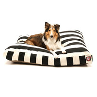 Majestic Pet Vertical Strip Rectangle Dog Pillow