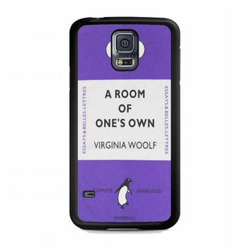Personalized Penguin Book For samsung galaxy s5 case