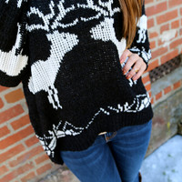 My Deer Sweater {Black}
