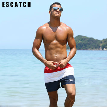 New Quick Dry Summer mens Beach board shorts surf siwmwear bermudas swim shorts for Men Athletic mens gym shorts
