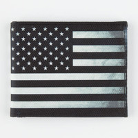Buckle-Down Us Flag Wallet Black/White One Size For Men 26870712501
