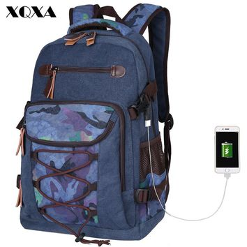 Print Canvas Backpack Women Laptop Backpack Bag for Teenagers School Bag Computer Notebook Casual Daypack Men