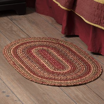 Cider Mill Collection Braided Rugs - Oval