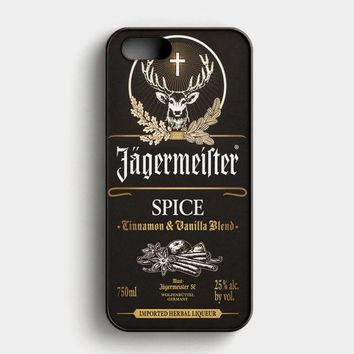 Jagermeister Spice iPhone SE Case