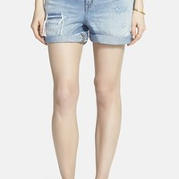 Women's Madewell 'Rip & Repair' Denim Boyfriend Shorts (Conor)