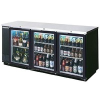 Beverage Air BB72GSY-1-B-27 Refrigerated Backbar Storage Cabinet