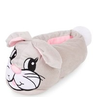 Grey Rabbit Slippers