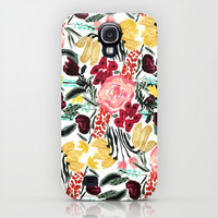 Wild Garden II iPhone & iPod Case by Bouffants And Broken Hearts