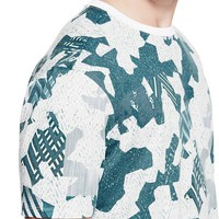 Abstract Geo Tee at Guess