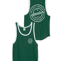 Michigan State Ringer Tank - PINK - Victoria's Secret