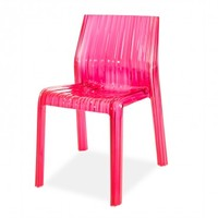 Kartell Fuchsia Frilly Chair