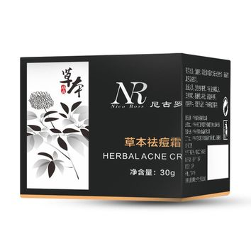 Hot Selling NR Removal Blemish Facial Effective Herbal Acne Cream Treatments Care Face Skin