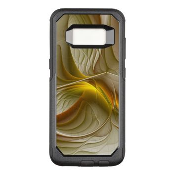 Colors of Precious Metals, Abstract Fractal Art OtterBox Commuter Samsung Galaxy S8 Case