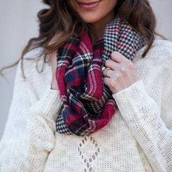 Plaid Is Rad Double Sided Tartan Scarf