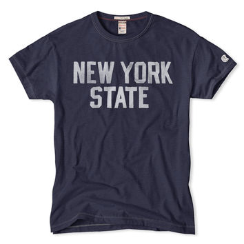 NY State T-Shirt in Mast Blue